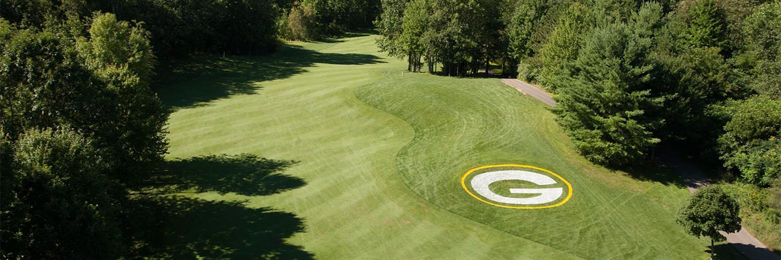 Aerial view of the course at Thorberry Creek at Oneida